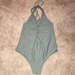 Green Tobi one piece swimsuit